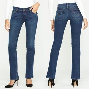 Hudson Beth Baby Boot Cut Slim Low Rise Jeans